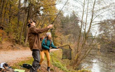 Užijte si zimní rybaření
